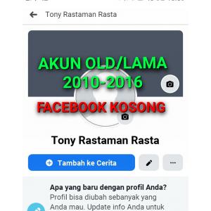 Gambar Jual Akun Facebook Old/Tua + Yahoo 2010-2016