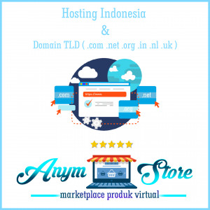 Gambar Hosting Indonesia + Domain .com .net .org .in .nl .uk