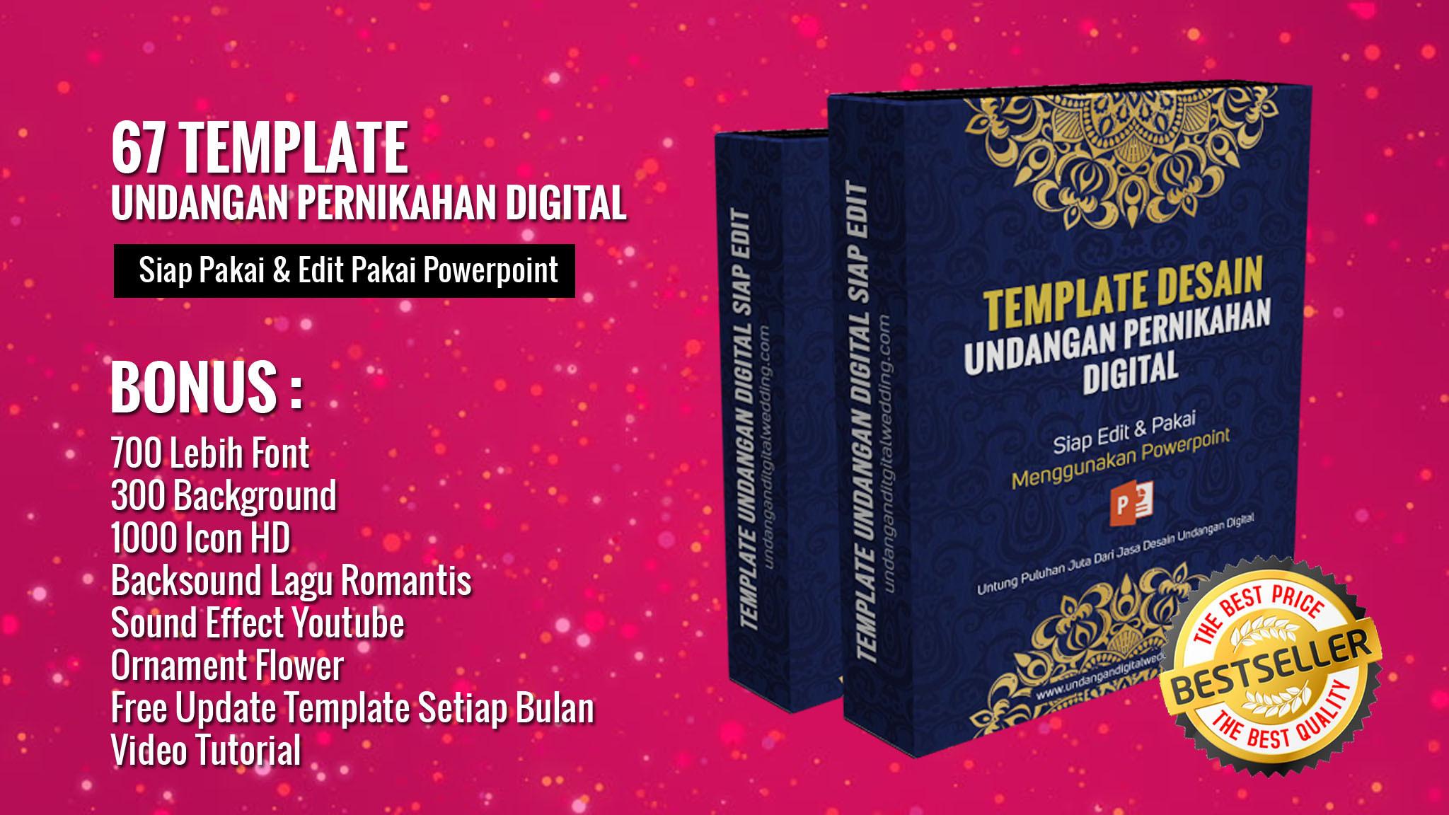 Jual Template Undangan Digital Ppt Dari Irfan Seharga 10 Digitaloka