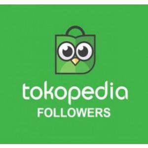 Gambar PROMO 1000 Followers Tokopedia Premium Real Indonesia Permanen & Ada Bonus [Termurah]