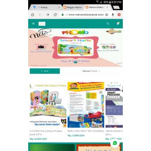 Gambar Pembuatan Toko Online berbasis Blogspot