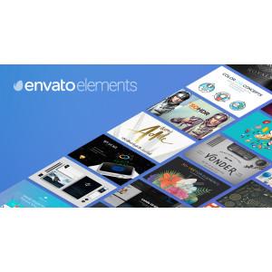 Gambar Akun Envato Element Sharring Durasi 1 Bulan Garansi
