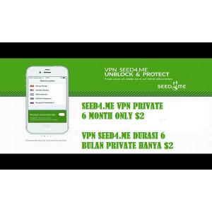 Gambar Vpn Seed4.me Private Durasi 6 Bulan