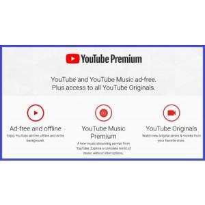 Gambar [4 BULAN] Akun Youtube Premium Private