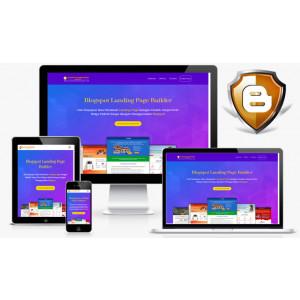 Gambar Blogspot Landing Page Builder