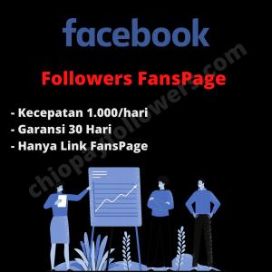 Gambar Jual Followers FansPage Facebook Full Garansi