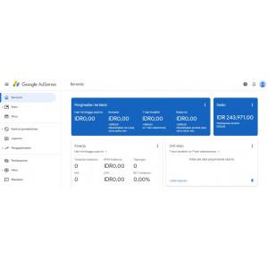 Gambar Akun Google Adsense Sudah Pin + 10 Domain Expired