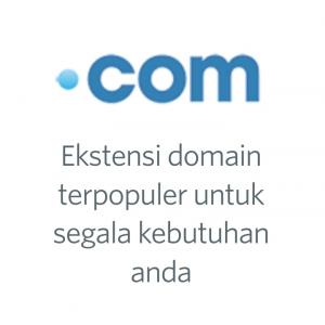 Gambar Domain .com murah