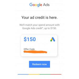 Gambar EBOOK MENDAPATKAN GOOGLE ADWORDS $150 & $50