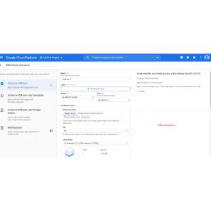 Gambar Jual Akun google cloud fresh saldo $300