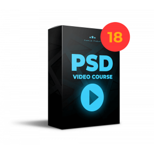 Gambar 18 Video eCourse Menguasai Desain di Adobe Photoshop