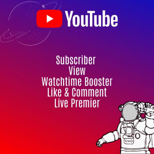 Gambar Youtube Views watchtime Booster - 1000 view