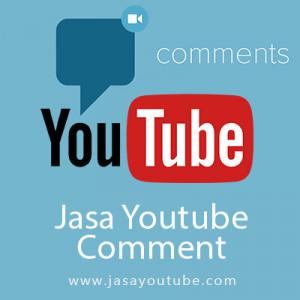 Gambar Jasa 100 Komentar Positif Youtube - Real Account Channel Aktif Termurah