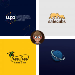 Gambar Design 2 Outstanding Logo Design FREE EDITABLE FILE