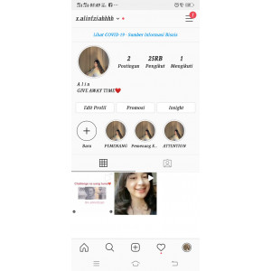 Gambar Akun Instagram 25 Rb Followers