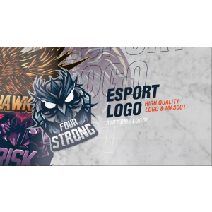 Gambar Design Esport Logo / Twitch / Youtube Profile