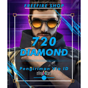 Gambar Top up 720 Diamond Free Fire