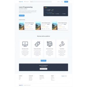 Gambar Jasa Pembuatan Custom Landing Page atau Halaman Website Statis