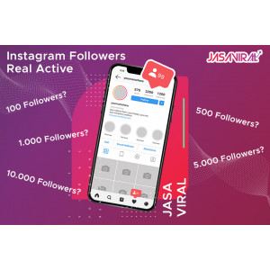 Gambar 1000 Followers Instagram Real Active - Exclusive (Bisa custom cek deskripsi)