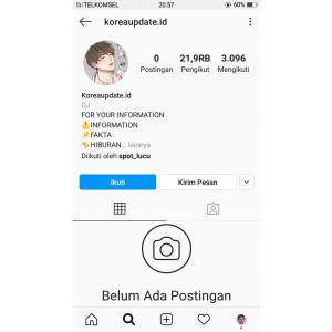 Gambar Jual Akun Instagram 21K followers Real Indonesia Termurah