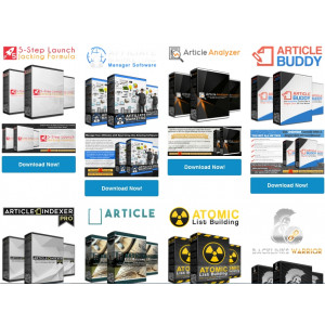 Gambar Promo 100 Produk PLR - Tutorial + WP Plugin + Software