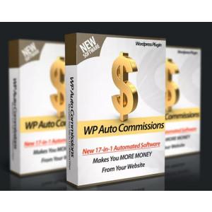Gambar Plugin WordPress Auto Commission - Raih Profit Dari 18 Cara Monetisasi Website