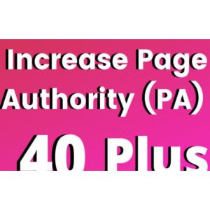 Gambar Jasa Meningkatkan Page Authority (PA) Web/Blog hingga 20+