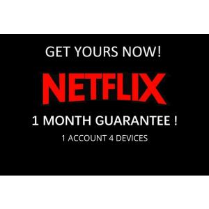 Gambar [PROMO] 1 Bulan - NETFLIX Private 1 Akun 4 Device