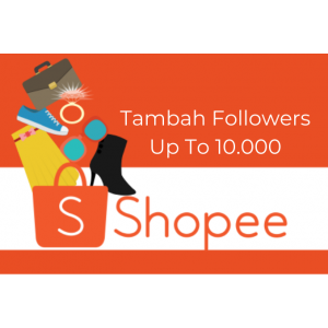 Gambar 700+ Followers Shopee [Max 10k]