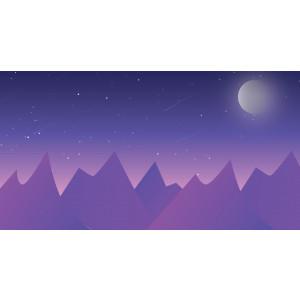 Gambar Vector Ilustrasi Pemandangan - Scenery Landscape Illustration