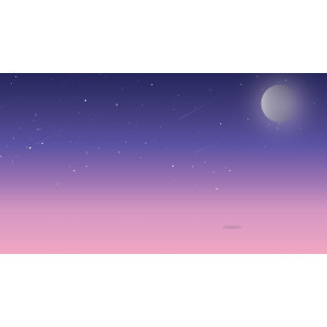 Gambar Vector Scenery Landscape Illustration - Ilustrasi Pemandangan