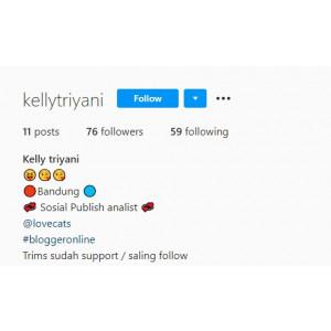 Gambar Jual akun instagram profil lengkap