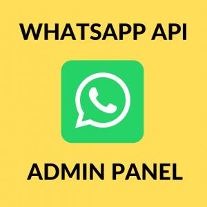 Gambar SCRIPT WHATSAPP API + ADMIN PANEL COCOK DIBUAT JASA PENYEDIA