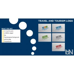 Gambar Design Logo Travel and Tourism