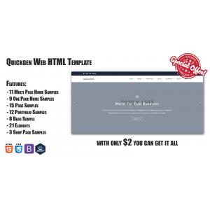 Gambar Web Template HTML | Quickgen - 2021