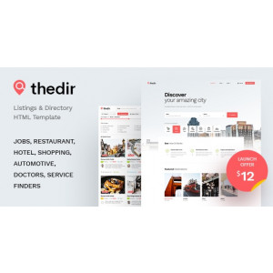 Gambar TheDir – Listing & Directory HTML Template