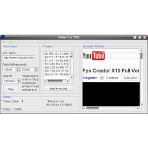 Gambar Youtube Viewer Bot V3