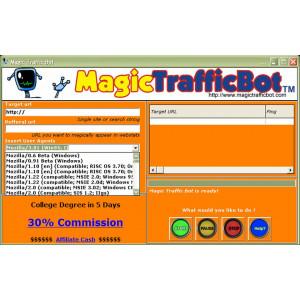 Gambar Magic Traffic Bot - Buat Web Traffic