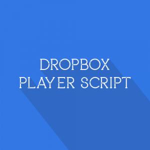 Gambar Dropbox Player Script