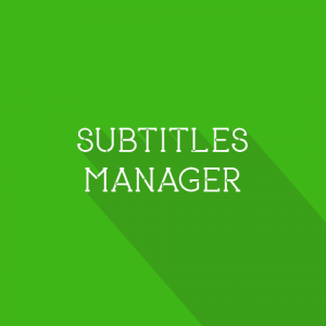 Gambar Subtitles Manager Script