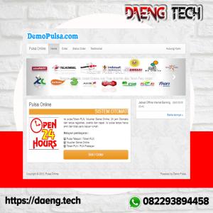 Gambar Script Web Toko Pulsa Online