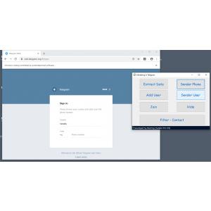 Gambar Telegram Marketer pro 3.2 + Full Source Code