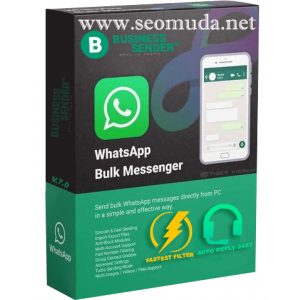 Gambar BUSINESS SENDER PRO V 8.0 AUTO REPLY 24X7 - Best WhatsApp Bulk Senders for WhatsApp