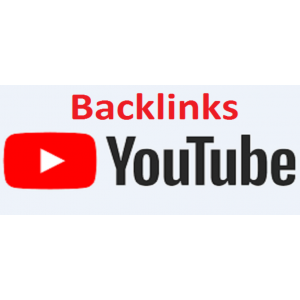 Gambar 100 backlink youtube high PR