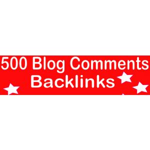 Gambar Membuatkan Anda HQ PR 500 Blog Komentar Tautan Balik/backlink