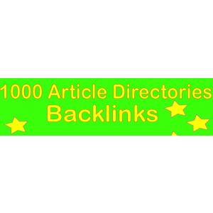 Gambar 1000+ Backlink Direktori Artikel HQ PR