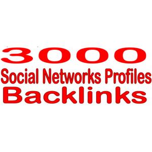 Gambar 3000 HQ PR Backlinks social network/Jaringan Sosial Profil