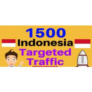 Gambar 1500 visitor dari indonesia