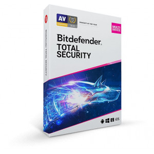 Gambar Antivirus Bitdefender Total Security 3 Bulan