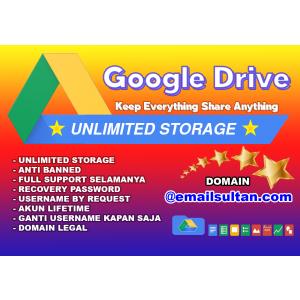 Gambar Santuy..!!! 2 Akun Google Drive Unlimited Storage Premium dari Gsuite